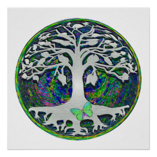 Tree of Life New Beginnings by Amelia Carrie Poster