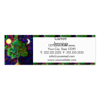 Tree of Life Night and Day Double-Sided Mini Business Cards (Pack Of 20)