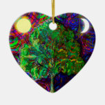 Tree of Life Night and Day Ornament