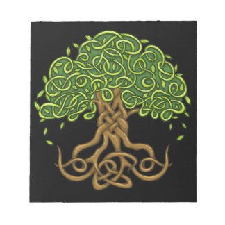 """Tree Of life Note book Size: 14 cm x 15.2 cm (5.5"""" Note Pad"""