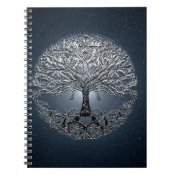 Tree of Life Nova Blue Spiral Notebook (<em>$13.70</em>)
