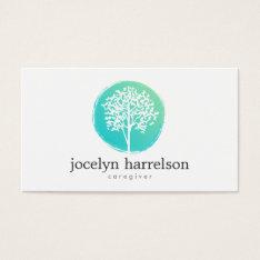 Tree of Life Nurse, Caregiver Business Card at Zazzle