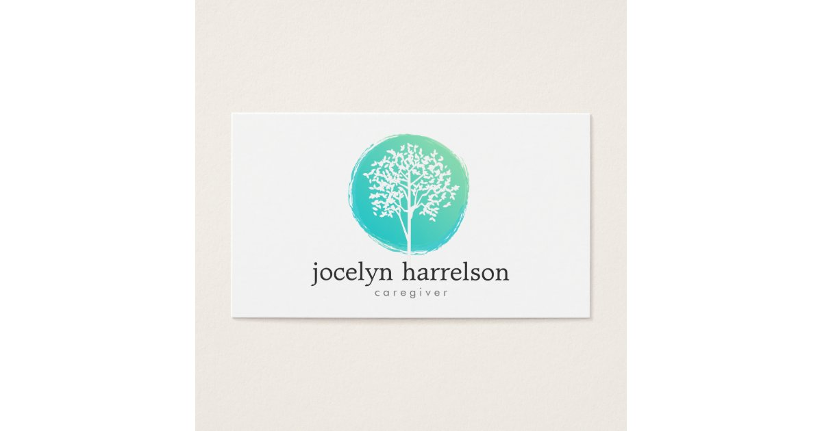 Tree of Life Nurse, Caregiver Business Card | Zazzle.com