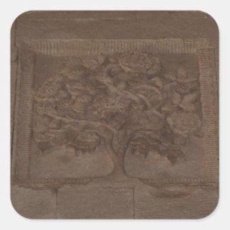 TREE OF LIFE  Ottoman Empire Square Sticker