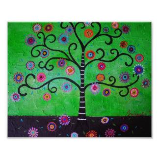 Tree of Life Painting Photo Print