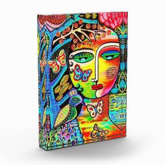 Tree Of Life Paradise Goddess Acrylic Block Art Award