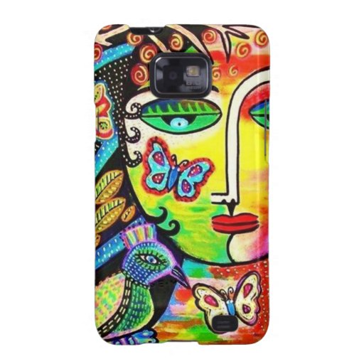 Tree Of Life Paradise Goddess Galaxy SII Cases
