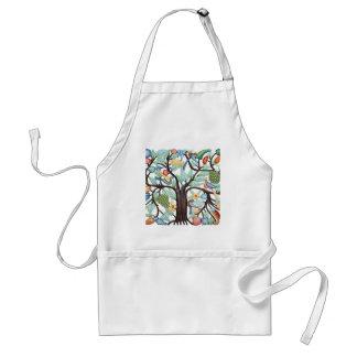 TREE of LIFE pastel Adult Apron