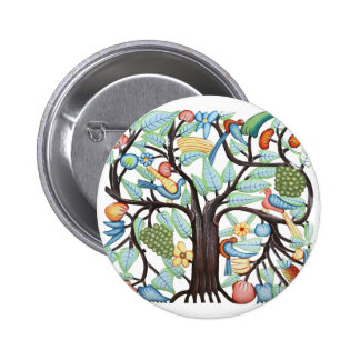 TREE of LIFE pastel Button