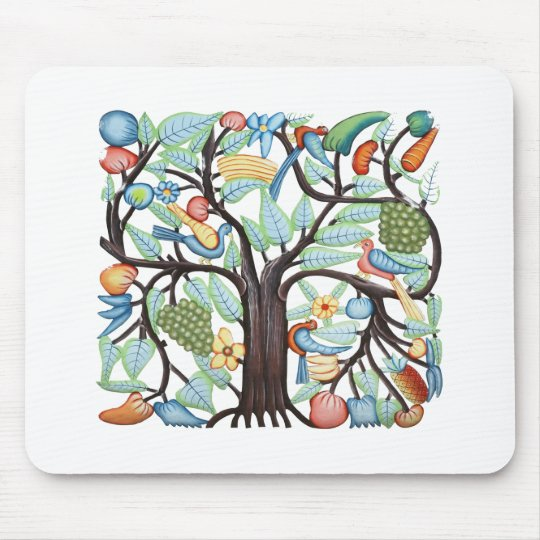 Tree of Life - pastel Mouse Pad