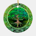 Tree of Life Patience Ceramic Ornament