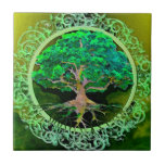 Tree of Life Patience Ceramic Tile