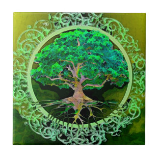 Tree of Life Patience Tile