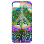 Tree of Life Peace iPhone 5 Cases