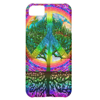 Tree of Life Peace iPhone 5C Covers