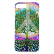 Tree of Life Peace iPhone 7 Plus Case (<em>$36.90</em>)