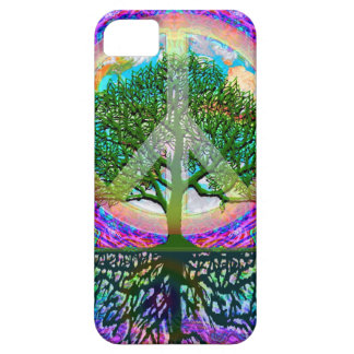 Tree of Life Peace iPhone SE/5/5s Case