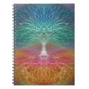 Tree of Life Peace of Mind Spiral Notebook (<em>$13.70</em>)