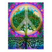 Tree of Life Peace Postcard (<em>$1.00</em>)
