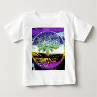 Tree of Life Peaceful Living Baby T-Shirt