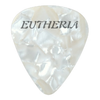 Tree of Life Pearl Celluloid Guitar Pick
