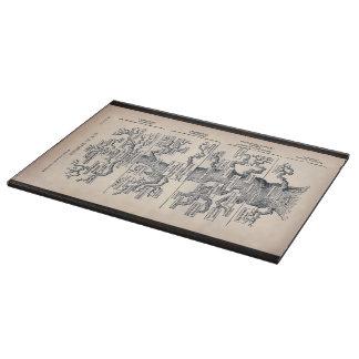 Tree Of Life / Pedigree Of Man Cutting Board