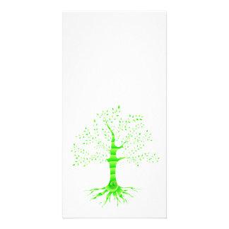 tree of life custom photo card
