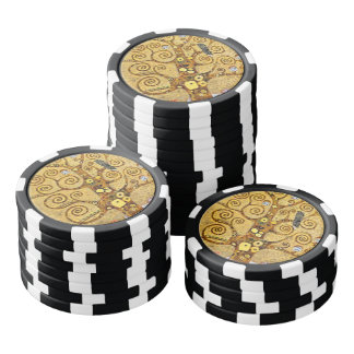 Tree of Life Poker Chips