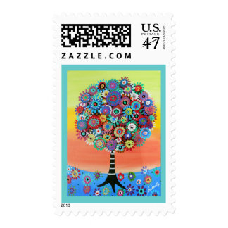 Tree of Life Postage