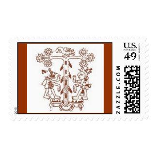 tree of life postage stamp