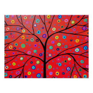 TREE OF LIFE POSTER PAINTING POSTER