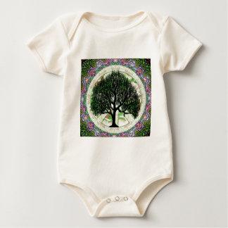 Tree of Life Prosperity Baby Bodysuit