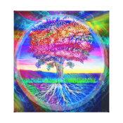 Tree of Life Rainbow Canvas Print (<em>$184.35</em>)