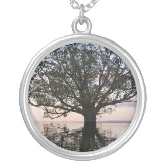 Tree of Life (Reflections) Round Pendant Necklace