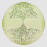Tree of Life Round Stickers