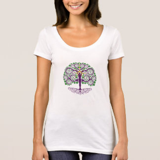 Tree of Life Scoop-Neck Shirt
