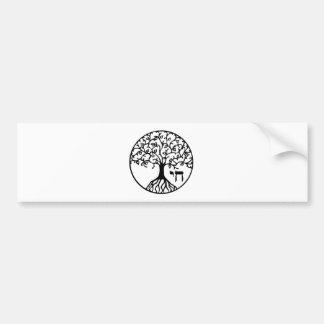TREE of LIFE - Sefirah Bumper Sticker