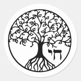 TREE of LIFE - Sefirah Classic Round Sticker