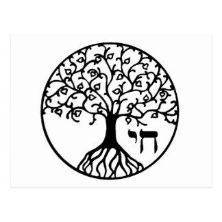 TREE of LIFE - Sefirah Postcard