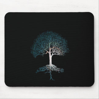 Tree of Life Silent Night Mouse Pad