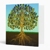Tree of Life Simple Pleasures of Life Binder (<em>$22.00</em>)