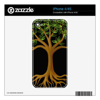 Tree of Life skin Decals For iPhone 4S