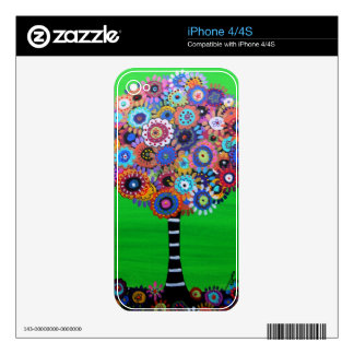 TREE OF LIFE SKIN FOR THE iPhone 4