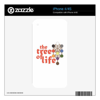 Tree of Life Skins For iPhone 4S