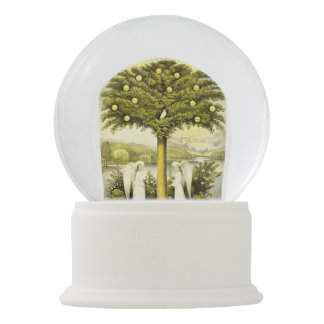Tree of Life snow globe