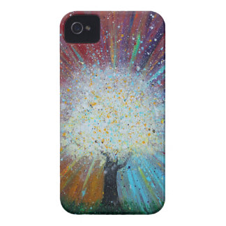 Tree of Life Springs Forth Abstract Art iPhone 4 Case