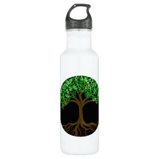 Tree of Life Stainless Steel Water Bottle