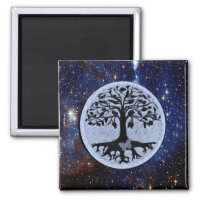 Tree of Life Stars Magnet