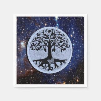 Tree of Life Stars Paper Napkin