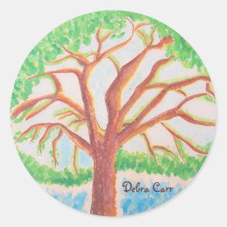 Tree of Life-sticker Classic Round Sticker